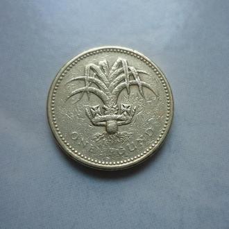Великобритания 1 фунт 1985