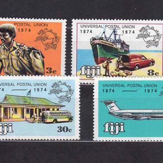 Авиация .   Фиджи 1974 г MNH - флот , транспорт , почта