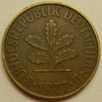 10 пфенінгів 1977 ФРН G