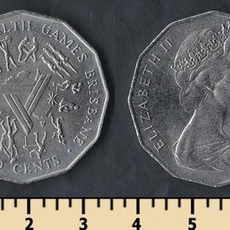 Австралия 50 центов 1982