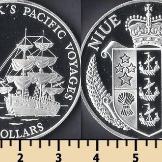 Ниуэ остров 10 долларов 1992