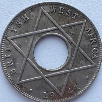 Британская Западная Африка, 1/10 пенни 1941 год СОСТОЯНИЕ!!