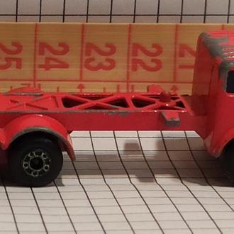Matchbox Superfast 1978 Mercedes-Benz Container Truck № 42 England модель грузовик Мерседес контейне