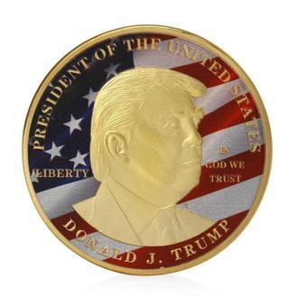 Дональд Трамп, президент США, Эксклюзив! Серия монет! номер -4