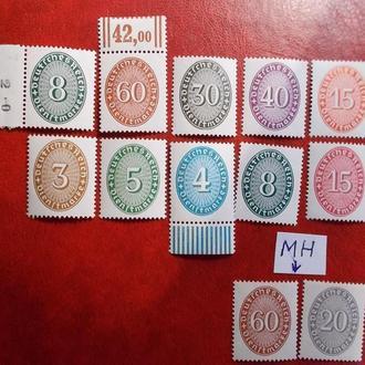 21.D.Reich.1928.mi 114-131...MNH
