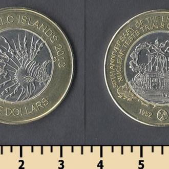 Монте-Белло острова 5 долларов 2013