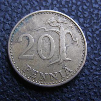 20 пенни 1976 Финляндия