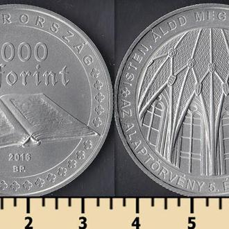 Венгрия 2000 форинтов 2016