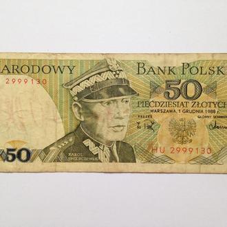 50 Злотых 1988 г Польша