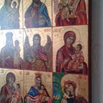 Икона Девятичастник 40х50см новодел
