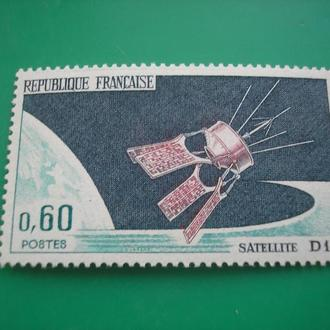 Франция 1966 Космос **