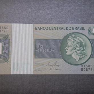 Бразилия 1 крузейро 1980 UNC