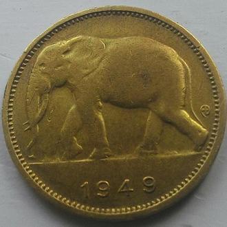 Бельгийское Конго 1 франк 1949 год