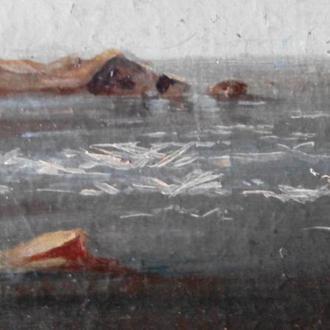 Картина с изображением кинбурнской косы