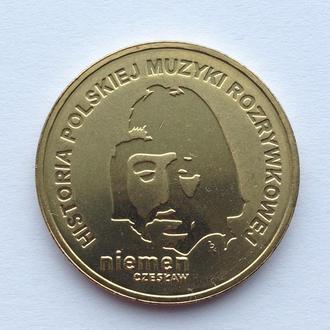 Польща 2 злотих (злотых) 2009    Чеслав Неман