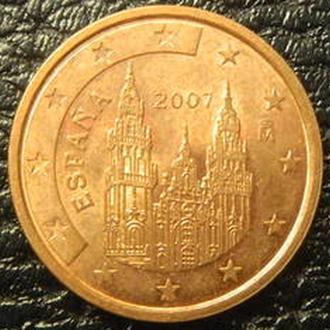 2 євроценти 2007 Іспанія