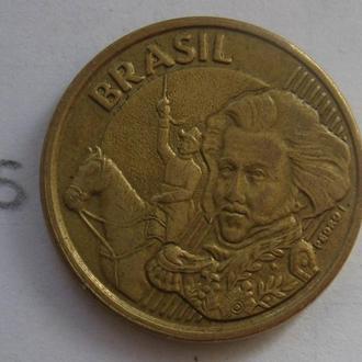 Бразилия. 10 сентаво 1998 года.