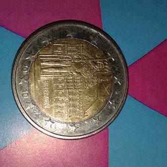 2 евро Германия 2010