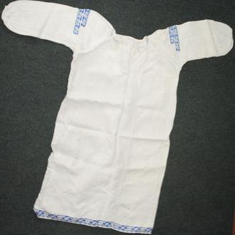 9ea1221ebd9a10 Полтавська старовинна вишиванка, сорочка жіноча , вишита, на конопляному  полотні. Поч 20 ст