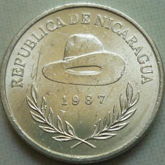 Никарагуа  10 сентаво 1987 состояние