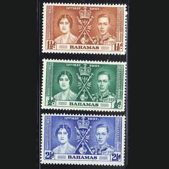 GB  Багамы  1937 г  MNH - - омнибус