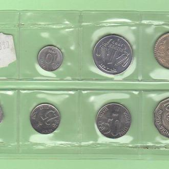 ИНДИЯ набор ІНДІЯ набір монет UNC