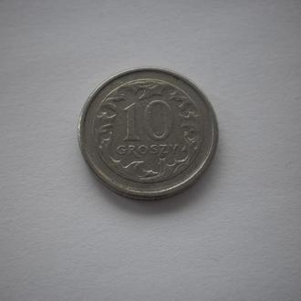 Польща. 10 грош. 1998 рік. Недорого. Ціна 3 гривні.