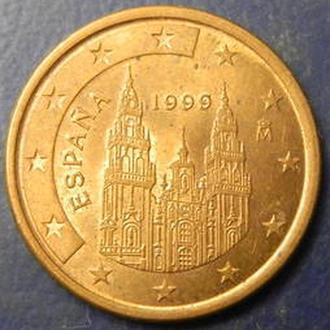 5 євроцентів 1999 Іспанія