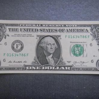 США 1 доллар 2013 F (Атланта)