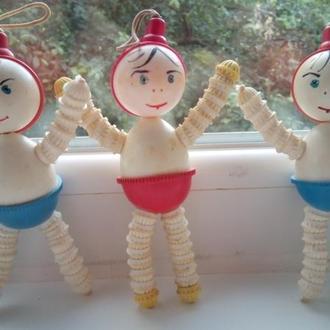Погремушки целлулоид 16см игрушка СССР