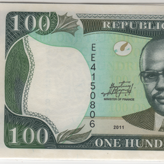 Либерия набор 5,10,20,50,100 долларов 2011 г.UNC