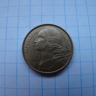 10 сантимов 1972 г., Франция.