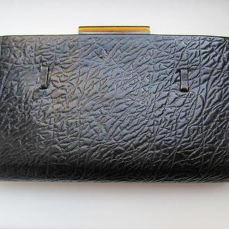 Винтажная кожанная сумочка клатч СССР 1957
