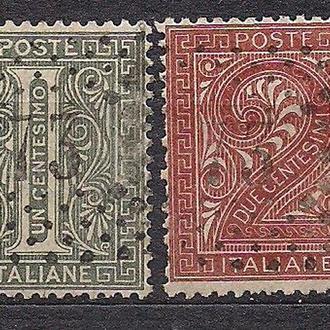 Италия, 1863 г., первые марки