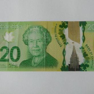 20 канадских долларов