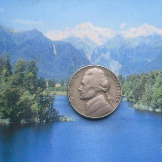США 5 центов 1964 года
