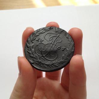 5 копеек 1767 г. ЕМ. Екатерина ІІ.