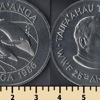 Тонга 1 паанга 1986