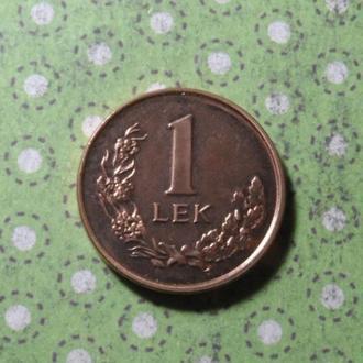 Албания 1996 год монета 1 лек