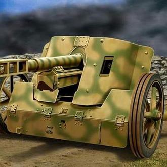 АСЕ 72246 Pak.50 7.5 cm германская противотанковая пушка, 1/72