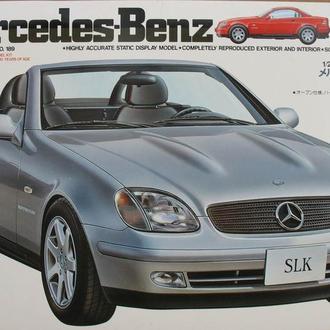 Сборная модель Mercedes-Benz  CLK 1:24 Tamiya