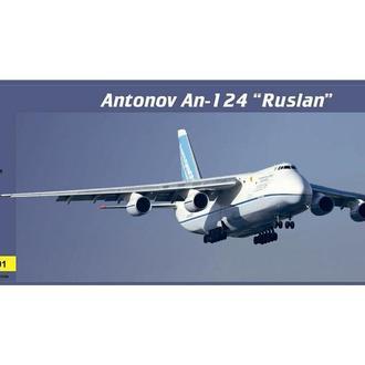 """Modelsvit - 7201 - Транспортный самолет Ан-124 """"Руслан"""" - 1:72"""