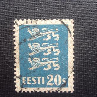 Эстония 1928г.гаш.