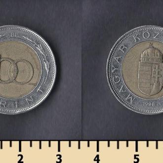 Венгрия 100 форинтов 1998