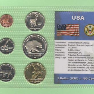 Набор США резервация LOS COYOTES - INDIANS пластик блистер