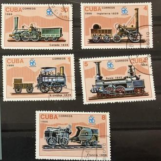 1986. Куба. Поезда