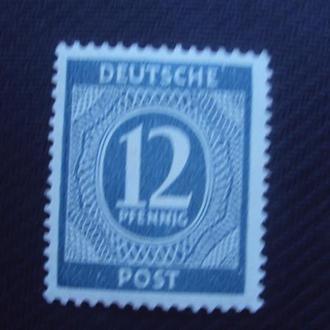Германия.Сов.зона 1946 негаш.