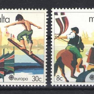 Мальта - спорт 1981 - Michel Nr. 628-629 **