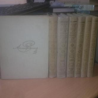 Пушкин. Собрание сочинений в 8 томах. 1967 г. Уменьшенный формат