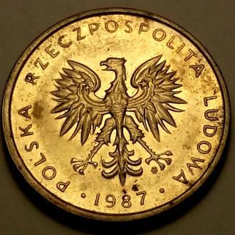 10 злотих 1987 года Польша - СОСТОЯНИЕ !!! - а2